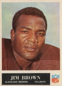 1965 Philadelphia Jim Brown #31