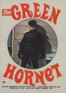 1966 Green Hornet Stickers Bruce Lee #24