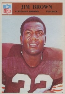 1966 Philadelphia Jim Brown #41