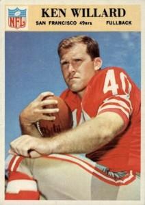 1966 Philadelphia Ken Willard RC #181