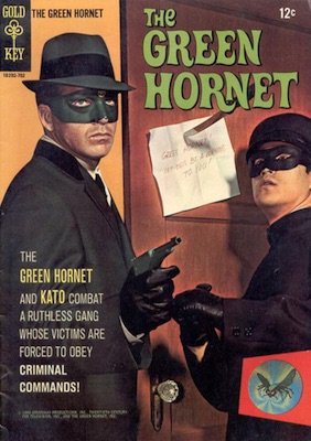 1967 Gold Key Green Hornet Comic Bruce Lee