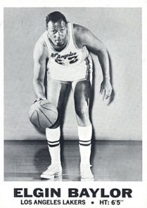 Elgin Baylor Rookie Card and Vintage Card Guide 3
