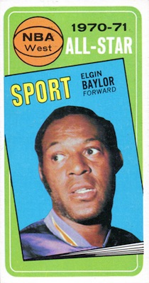 Elgin Baylor Rookie Card and Vintage Card Guide 6