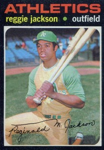Top 10 Reggie Jackson Baseball Cards 5