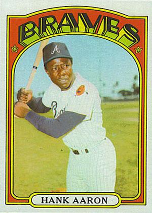 1972 Topps Hank Aaron
