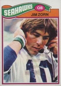 1977 Topps Jim Zorn RC #65