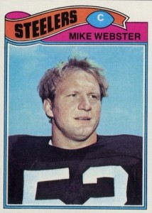 1977 Topps Mike Webster RC #99