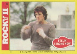 1979 Topps Rocky II Trading Cards 1