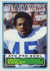 1983 Topps Kenny Easley RC #384