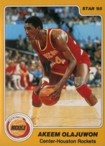 Hakeem Olajuwon Rookie Card Guide and Checklist 1