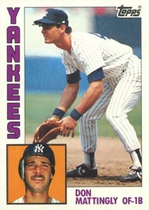 1984 Topps Don Mattingly