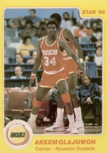 Hakeem Olajuwon Rookie Card Guide and Checklist 2