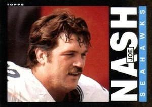 1985 Topps Joe Nash RC #390