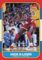 Hakeem Olajuwon Rookie Card Guide and Checklist