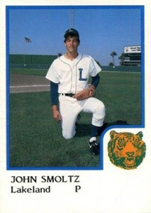 John Smoltz Cards and Rookie Card Checklist 1