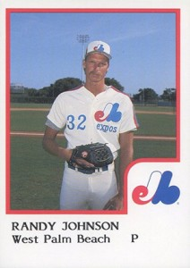 10 Randy Johnson Baseball Cards That Are Nothing Short of Awesome 1