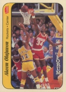Hakeem Olajuwon Rookie Card Guide and Checklist 4