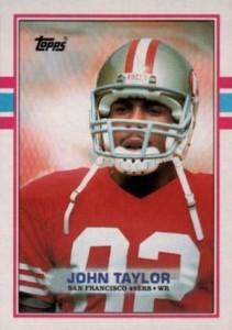 1989 Topps John Taylor RC #238