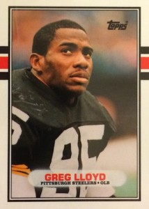 1989 Topps Traded Greg Lloyd RC #115T