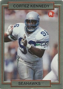 1990 Action Packed Rookie Update Cortez Kennedy RC #39