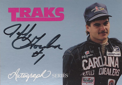 1992 Traks Autograph Series Jeff Gordon