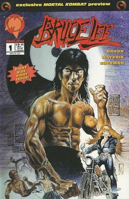 1994 Malibu Bruce Lee Comic #1