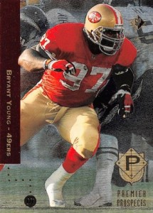 1994 SP Bryant Young RC #6