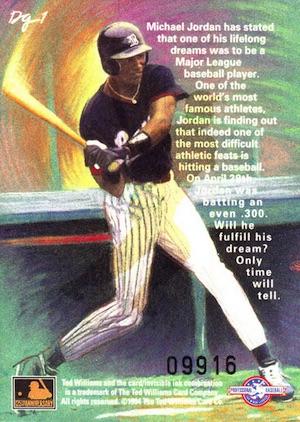 Ultimate Michael Jordan Baseball Cards Guide 22