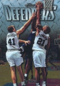 Tim Duncan Visual Rookie Card Guide and Checklist 5