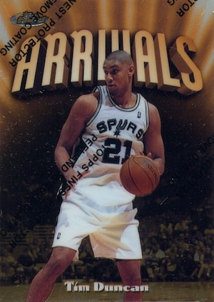 Tim Duncan Rookie Card Gallery and Checklist 6