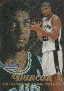 Tim Duncan Visual Rookie Card Guide and Checklist 9
