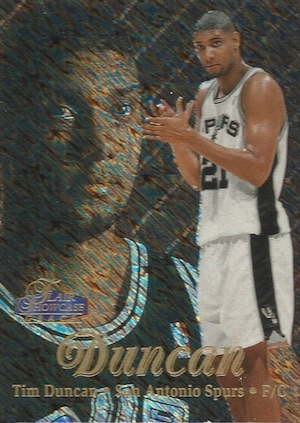 Tim Duncan Rookie Card Gallery and Checklist 9