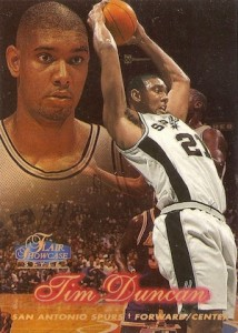 Tim Duncan Visual Rookie Card Guide and Checklist 8