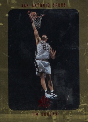 Tim Duncan Rookie Card Gallery and Checklist 16