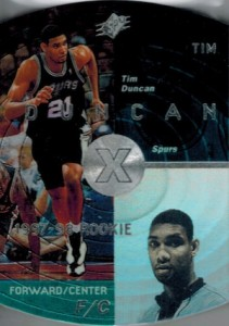 Tim Duncan Visual Rookie Card Guide and Checklist 17