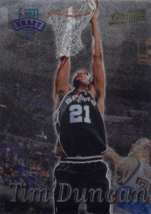 Tim Duncan Visual Rookie Card Guide and Checklist 18