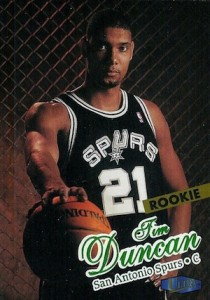 Tim Duncan Visual Rookie Card Guide and Checklist 21