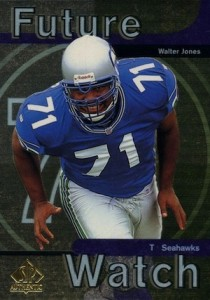 1997 SP Authentic Walter Jones RC #6