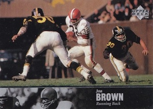 1997 Upper Deck Legends Jim Brown #2