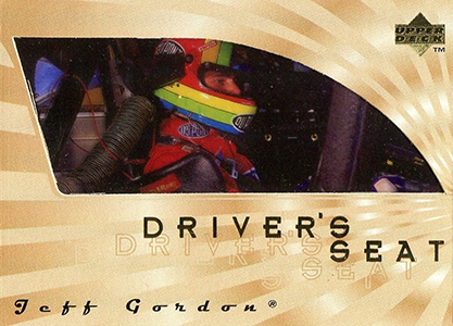 1997 Upper Deck Victory Circle Driver's Seat Jeff Gordon