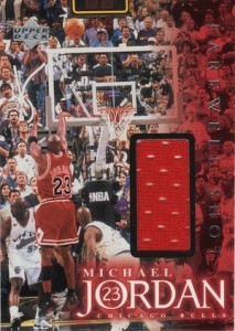 1999 Upper Deck Employee Game Jersey Michael Jordan