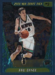 Pau Gasol Rookie Card Checklist  2