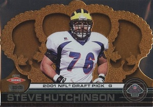 2001 Crown Royale Steve Hutchinson RC #185