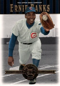 2001 Upper Deck Hall of Famers Ernie Banks
