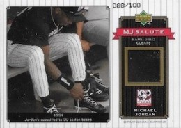 2001 Upper Deck MJ Salute Game-Used #MJ cleats