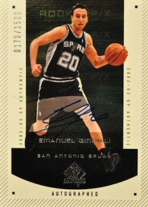 Top San Antonio Spurs Rookie Cards of All-Time 14