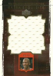 2003-04 Exquisite Collection Extra Exquisite Michael Jordan #EE-MJ