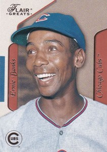 2003 Flair Greats Ernie Banks