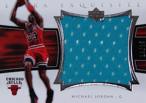 2004-05 Exquisite Collection Extra Exquisite Michael Jordan #EE-MJ