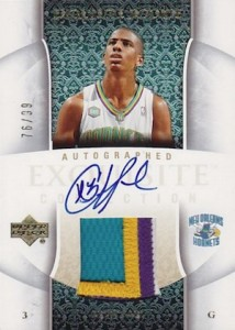2005-06 Exquisite Collection Chris Paul RC #46